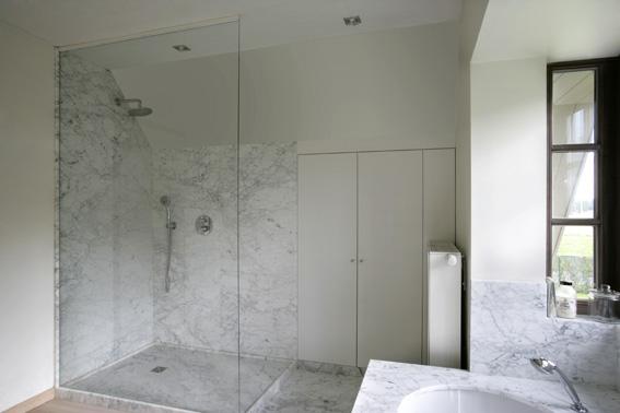 Platen Voor Badkamer : Marmer douchewanden badkamerinrichting kamo